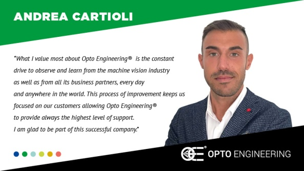 Andrea Cartioli - Opto Engineering