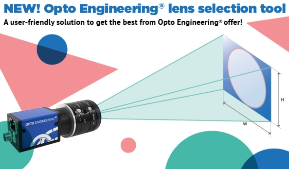 Opto Engineering Lens selection tool