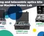 Lighting and telecentric optics kits