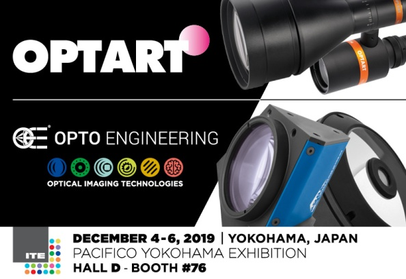 Opto Engineering at ITE Yokohama 2019
