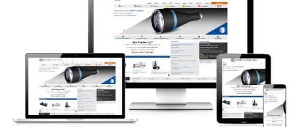 Opto Engineering new website