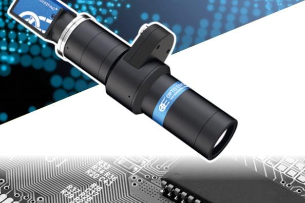 telecentric optics and liquid lenses technology